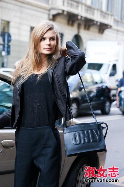 要有个性就要有款时尚的包 包包搭配