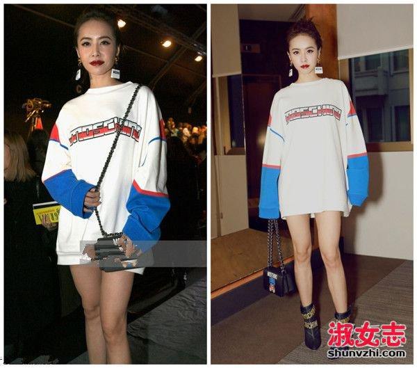 中日韩女星扎堆时装周 谁更有时尚品味? 2017时装周