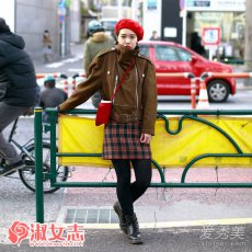 2017春季日本街拍潮女穿衣搭配