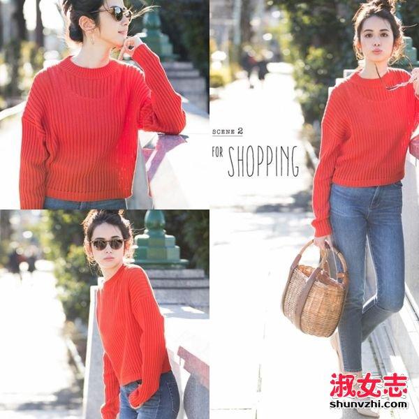 日本超人气时尚造型师教你 春季时髦搭配 春装搭配图片