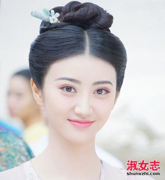 《大唐荣耀》下架了?还好有大甜甜的漂亮发型可以看 景甜发型图片