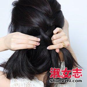 难度系数乘以3?3款蜜糖扎发搞定春季造型 扎头发的教程
