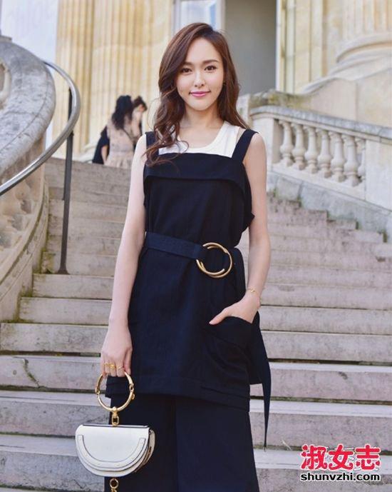 长发女星的战场?2017巴黎时装周刘亦菲何穗发型最美 时装周明星发型
