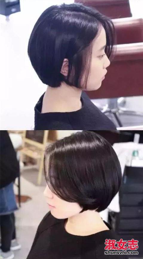 """什么是""""漏耳短发""""?好看露耳短发发型图片 露耳短发图片"""