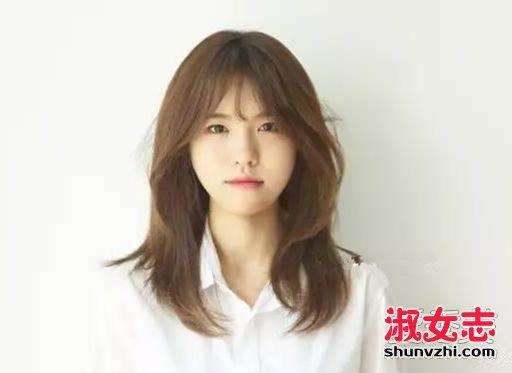 好看韩式发型起底 好看的短发女韩国