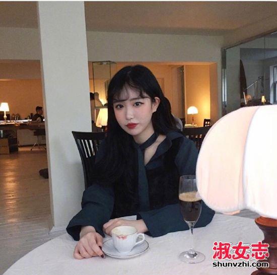 2017什么刘海最好看?韩式波浪刘海成新宠 2017刘海图片