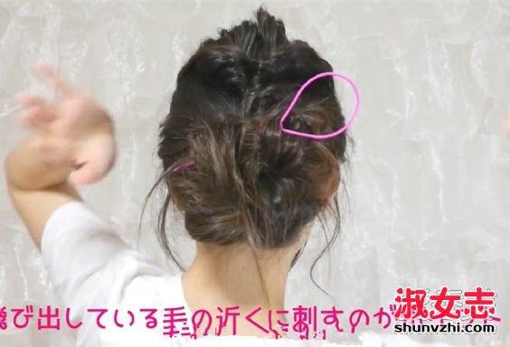 春天最适合扎花苞头了!最简单的花苞头扎法 花苞头怎么扎简单好看