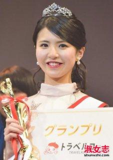2017日本最美女大学生照片 松田有纱资料