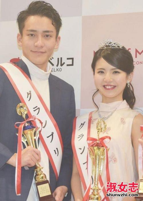 2017日本最美女大学生是谁 2017日本最帅男大学生是谁 松田有纱荣佐藤雅照片
