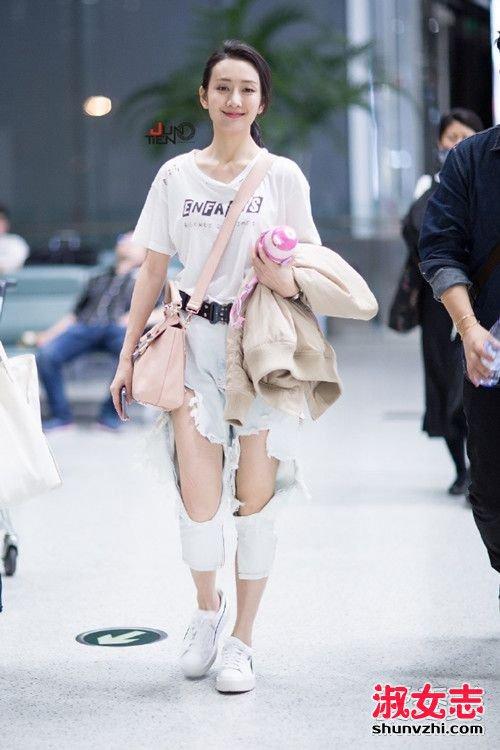 破洞裤怎么搭配 破洞裤怎么搭配上衣 破洞裤怎么搭配鞋子