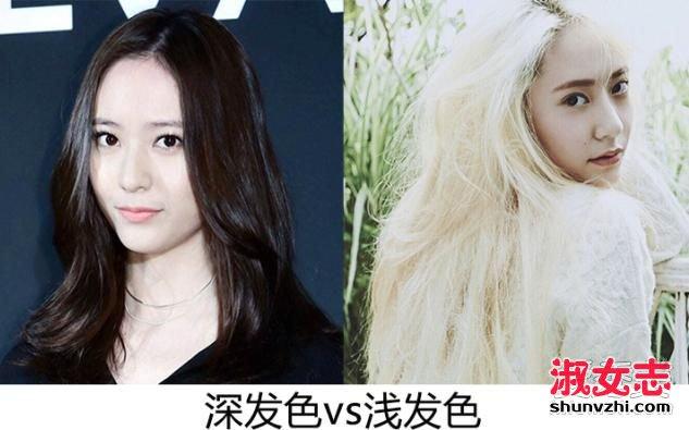 女生头发少适合什么发型 皮肤黑适合什么发色