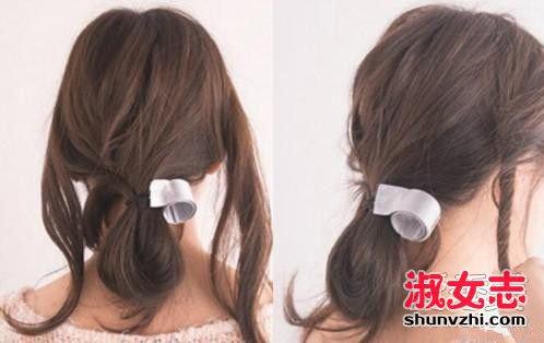 夏季清凉马尾扎法 夏季怎么扎起长头发图片