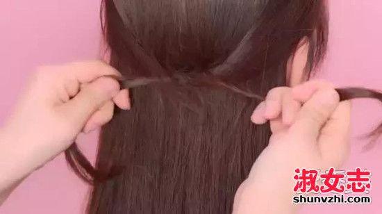 长发马尾辫的各种扎法2017 长发马尾编发图解步骤