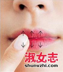 吻唇妆是什么样的 吻唇妆怎么画图解