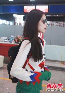 女明星喜欢的双肩包盘点 倪妮机场双肩包是什么牌子