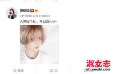 辣妈佟丽娅最新短发叫什么 染的颜色介绍
