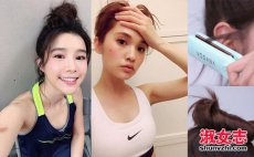 跑步运动女生怎么扎头发好