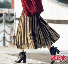 秋季怎么搭配长裙更好看 学达人穿法