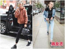 欧美潮女最新街拍性感时尚出街