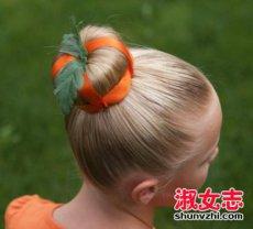 万圣节可爱发型  万圣节发型怎么弄