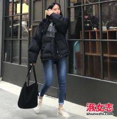 2017冬季韩国最新街拍 女生搭配热门款