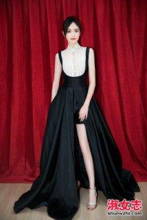 唐嫣的复古长裙被赞 唐嫣的复古长裙是什么