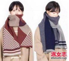 冬季女生围巾文艺小清新搭配法