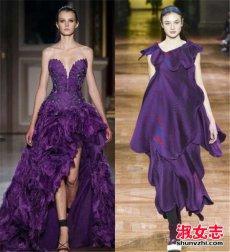 紫色大衣如何搭配 紫色大衣配什么围巾和打