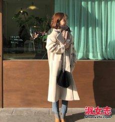 冬季韩国女生好看的搭配街拍