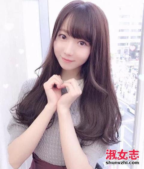 2018年女生流行刘海发型图片图片