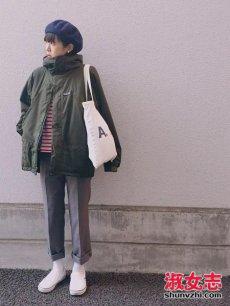 小个子女生街拍搭配 小个子女生冬季穿衣技巧