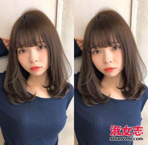 2018女生烫发怎么选 推荐流行齐肩烫发发型图片