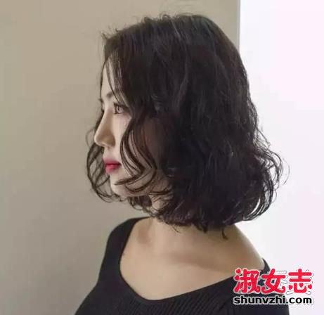 齐肩卷发发型适合那些人 2018流行的齐肩卷发发型