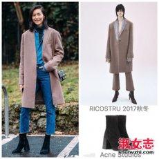 2018年春季流行长外套 明星同款长外套搭配大全