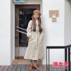 2018春季穿什么外套出街 看最新日韩街拍