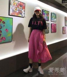 韩国时尚博主示范春夏潮流搭配