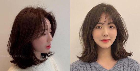 发型  预测2019 年会流行的发型,层次感短发真的是首选,和齐发尾相比图片