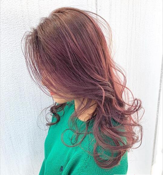 2019年最受女人欢迎的发型颜色大全图片
