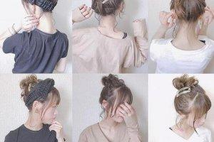 花式编发女生头发造型 学生怎么做