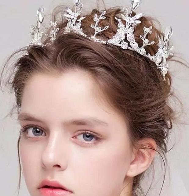 公主皇冠新娘发饰