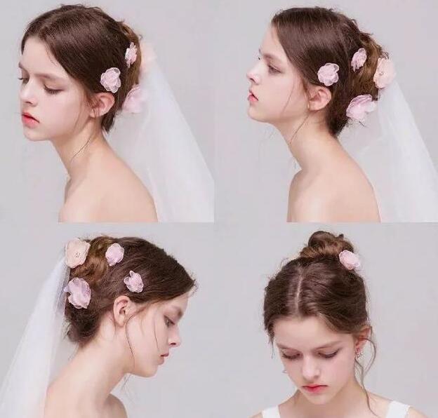 仿真花朵新娘发饰