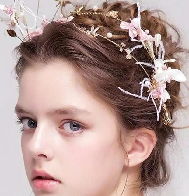 气质新娘发饰
