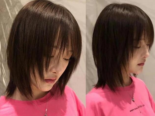 层次感的直短发