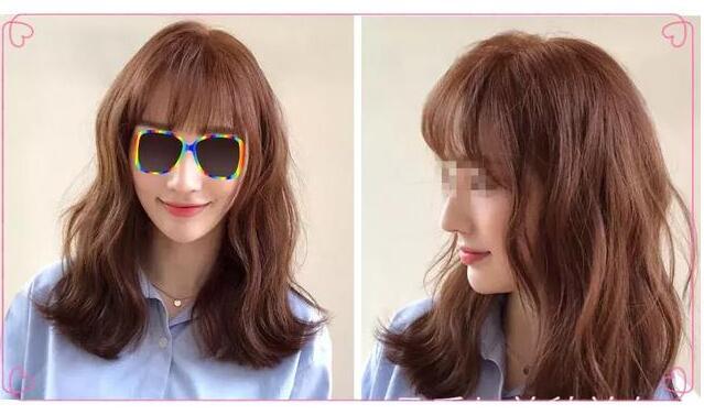 韩式微卷发型
