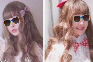 现在流行的卷发发型图片 现在流行的头型卷发女